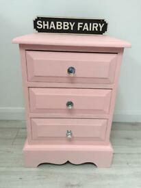 Gorgeous single solid pine bedside drawers