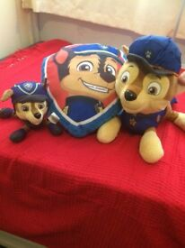 Paw patrol items (Chase)