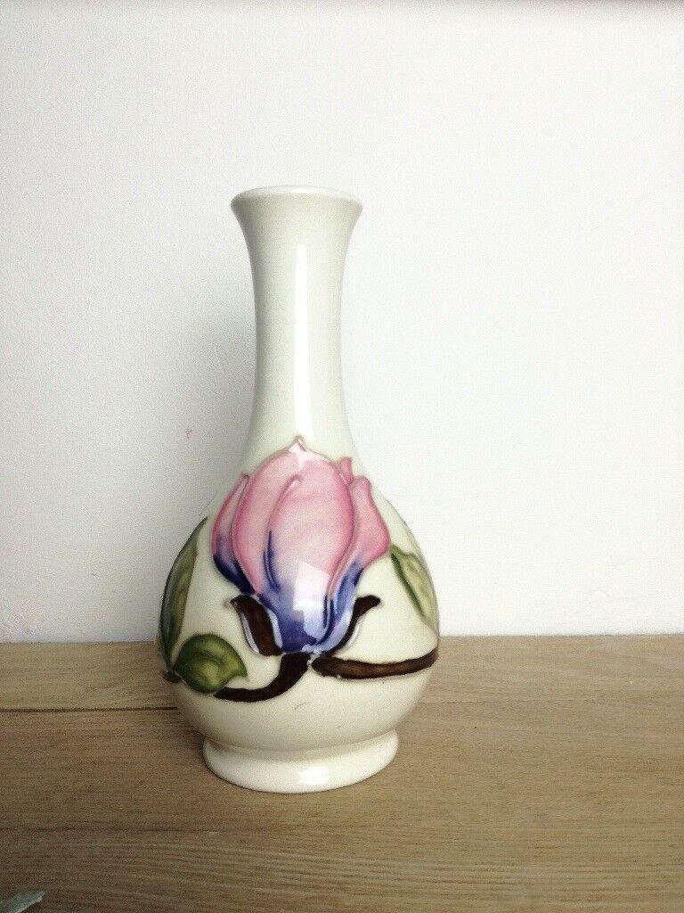 Moorcroft pink magnolia vase in leeds west yorkshire gumtree moorcroft pink magnolia vase reviewsmspy
