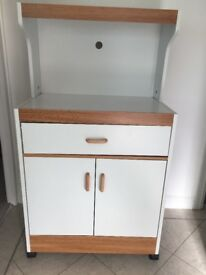Kitchen unit / microwave table and storage