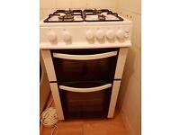 Gas cooker Logik LFSTG50W £90