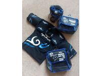 Large boys body armour and scrum cap
