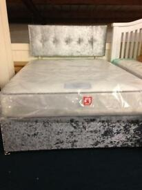 Double bed, mattress and head board only £239