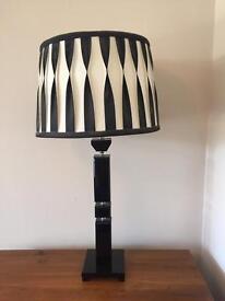 Black Marble Table Lamp