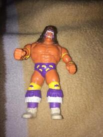 1991 Ultimate Warrior Wrestling Figure