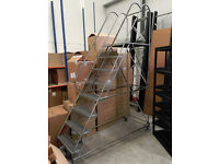 Mountie Warehouse Mobile Safety Steps 2.7m