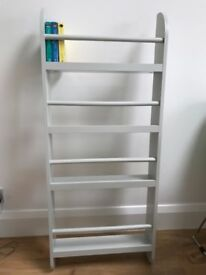 GLTC (Great Little Trading Company) Greenaway Skinny Gallery Bookcase | Cloud Grey