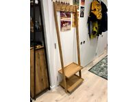 Oak Clothes Organiser