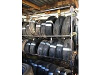 "BEST QUALITY & LOWEST PRICES FOR PART WORN TYRES IN THE COUNTY, 13"", 14"", 15"", 16"", 17"""