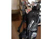 Golf bag and clubs *price reduced*