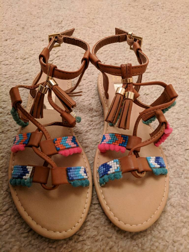 temperament shoes new lower prices release date: Primark womens sandals size 4 | in Huyton, Merseyside | Gumtree