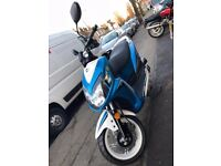 SYM Jet 4 R 50cc BLUE/WHITE *BRAND NEW!* MOPED/SCOOTER Bristol