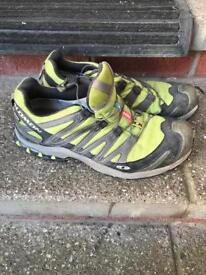 Men's Salomon trail shoes