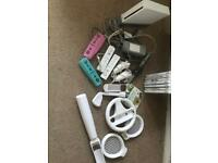 Nintendo Wii console and games & controllers