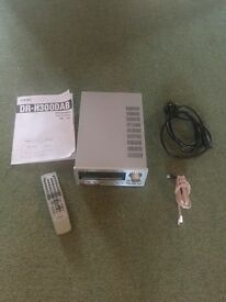 Teac integrated DVD, CD player with DAB radio and amp