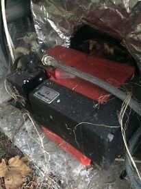 Bentone oil burner boiler perfect LOA24.171B2B