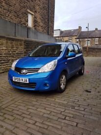 2009 Nissan Note Acenta 1 lady owner from new