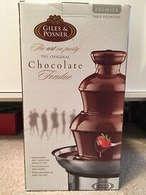 Giles & Posner chocolate fountain