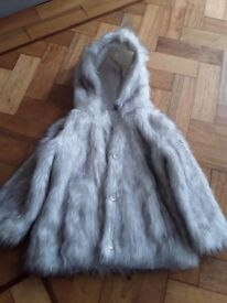 Sainsburys 3-4 fur coat