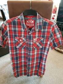 Superdry shirt red colour