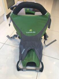 LittleLite Adventurer Baby Carrier - Green and Grey