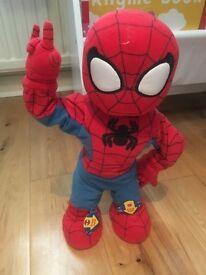 Dancing/singing spider man toy