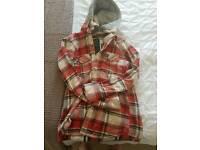 Superdry lumberjack hoodie
