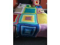 Handmade blanket and pillow