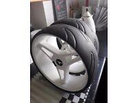 Motocaddy wheels 2017