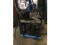 Clarke Wede Arc Welder in excellent condition - hardly used