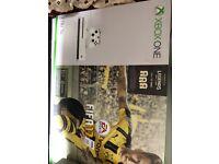 XBOX ONE S 1TB 4K - FIFA 17 Edition + MAFIA III + VERTICAL STAND - BOXED - MINT!