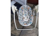 Baby bouncer swing sit