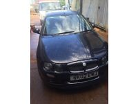Car for sale MG black