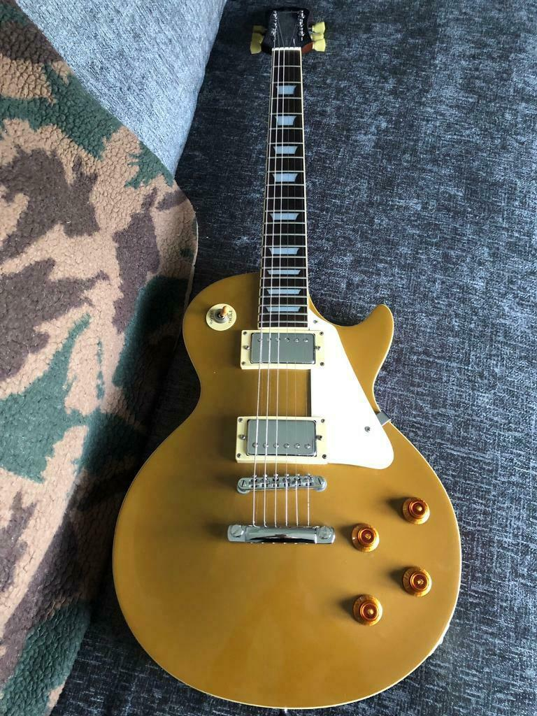 Epiphone Les Paul gold top, made 1995 | in Bolton-upon-Dearne, South  Yorkshire | Gumtree