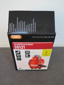Vax spares for a multi function 6121, New & unused in box- See photos for items