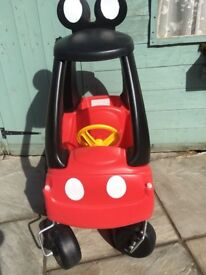 MICKEY MOUSE COZY COUPE CAR (DONCASTER AREA)