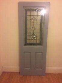 Hardwood door exterior