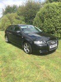 Audi A3 black 2.0l diesel 2007