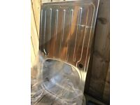 New without box, never used Cooke & Lewis stainless steel kitchen sink