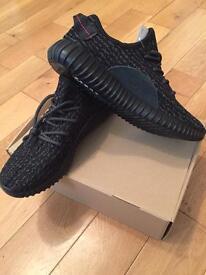 Yeezy Boost 350 Pirate Black Adidas Trainers Unisex Footwear Men Women Male Female Sizes 9 to 11