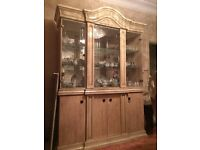 Display Cabinet (matching dining room table and chairs also for sale - see other add)