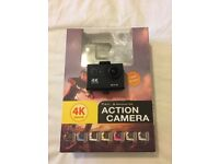 4K Actioncam with remote control (similar to Go Pro)