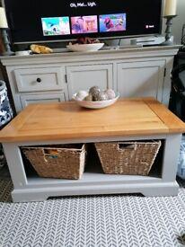 Oak furniture coffee table