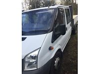 FORD TRANSIT TIPPER****CREW CAB****LOW MILEAGE****1 OWNER***** NO VAT