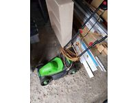 Florabest electric lawnmower 1200W with manual