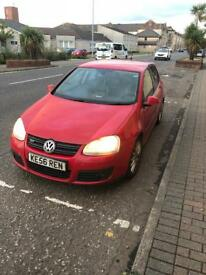 Vw golf gt tdi 170 with private reg