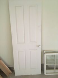 White Interior 4 Panel Door