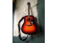Fender CD60 acoustic guitar for sale