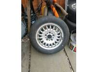 Bmw alloy with good tyre
