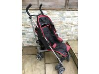 ANOTHER PUSH CHAIR PUSHCHAIR BABY TODDLE STROLLER. SMALL LIGHT AND EASILY FOLDABLE. GREAT FOR BUS